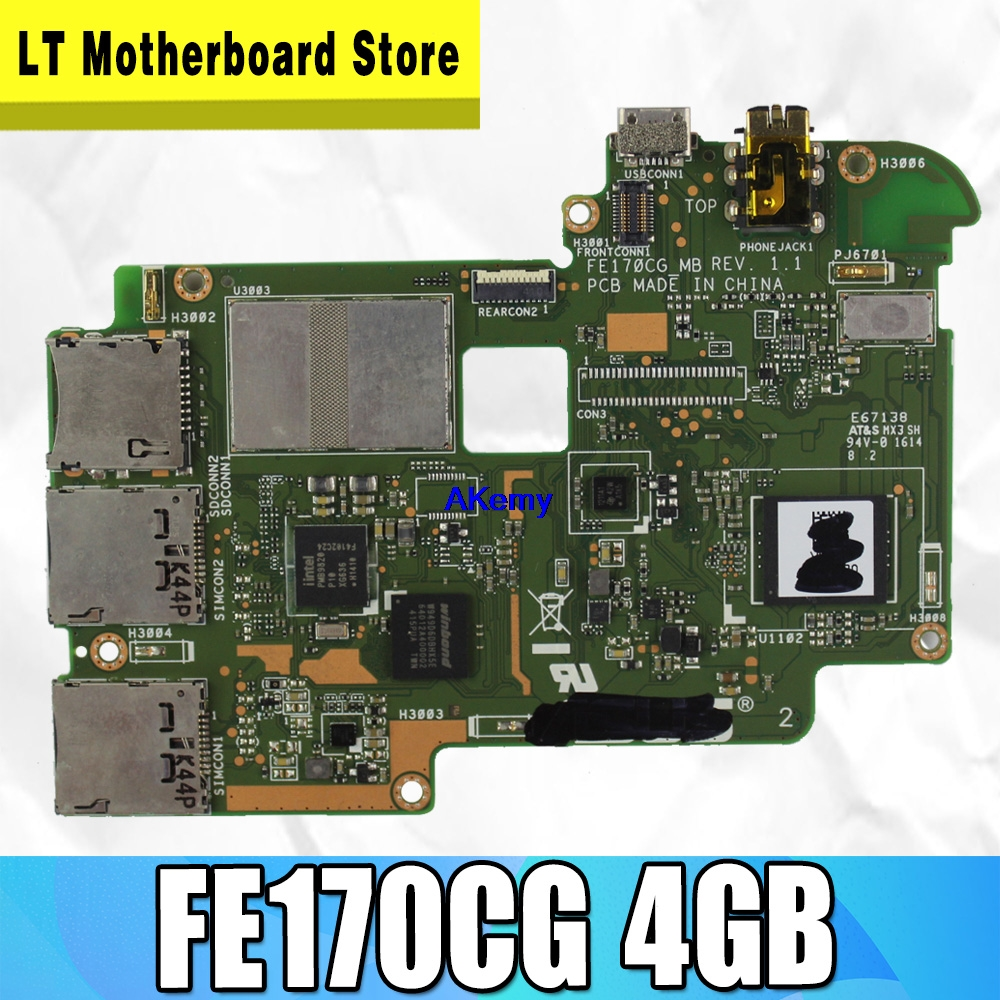 BOARD For Asus FonePad 7 FE170CG 4GB Tablet PC Computer Motherboard Completely New Work Well Motherboard 100% Test
