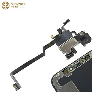 Image 4 - SZteam earpiece flex cable for iPhone X XS MAX XR 11 11pro 11promax original pulled Original Earpiece Replacement Parts