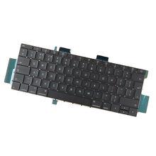 Великобритания Клавиатура для ноутбука с подсветкой подходит для Apple MacBook Pro A1708 серии