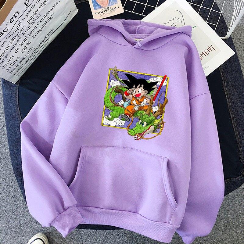 Japanese Anime Printed Hoodies 2021 Spring Autumn Long Sleeve Hoodie Women Cartoon Graphic Streetwear Sweatshirts Female Tops 34