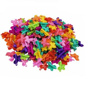 20 PCS/lots Colorful Crab Flower Butterfly Heart Bow Hair Claw Hair Accessories Plastic Hairpin Hair Clip Barrettes For Girls