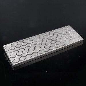 Image 3 - [ВИДЕО] 1 шт. 400 1000 двухсторонняя зернистость Алмазная точилка для ножей точильный камень кухонные инструменты хонингование лезвия грубая заточка
