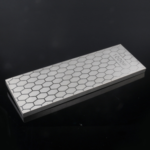 Image 3 - [Video]1pcs 400 1000 double side grit diamond knife sharpener sharpeing stone kitchen tools honing blade coarse sharpen