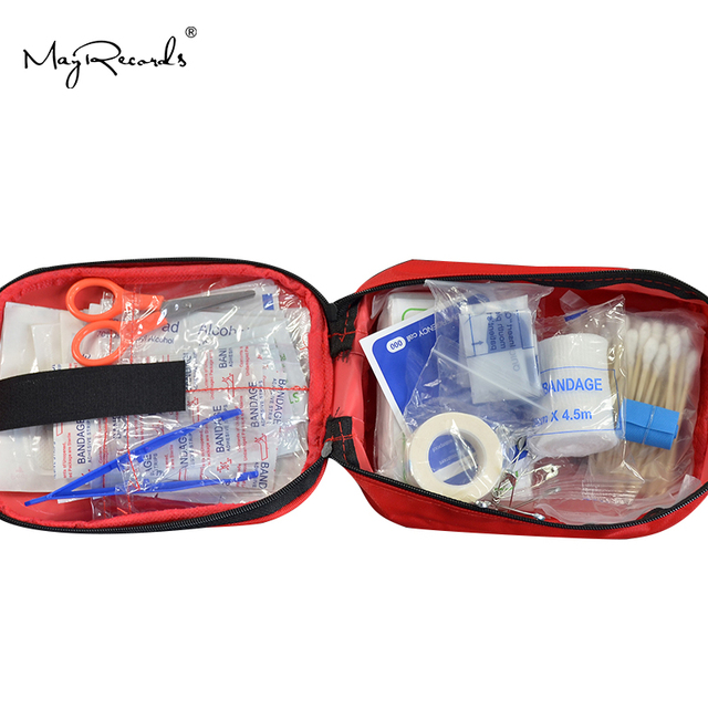 120pcs/pack Safe Camping Hiking Car First Aid Kit Medical Emergency Kit Treatment Pack Outdoor Wilderness Survival 4