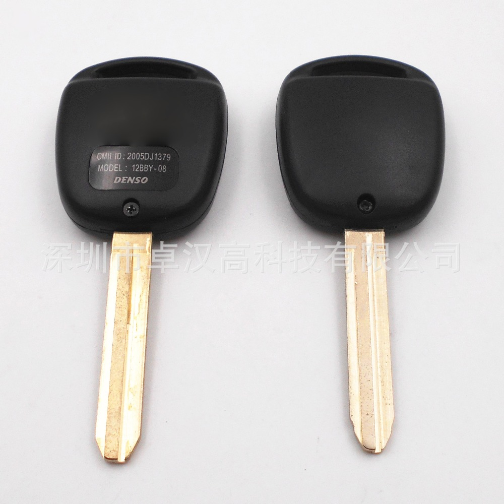 For Toyota Isis Lexus LX / GX Delta Instead of Original Factory Auto Car Key KETO 2 Buttons Change Car Key Shell