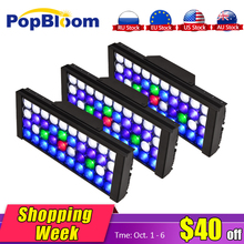 PopBloom aquarium light lamp For Aquarium Plants Led Lights Fishing Marine Coral Stone Tank Turing30