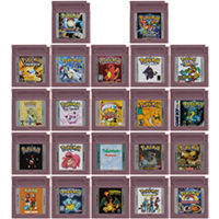 Video Game Cartridge Console Card 16 Bits Pokeon Blue Kaizo Bronze Orange Pink Prism Brown For