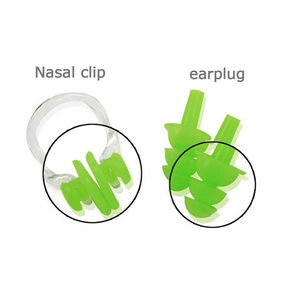 Водонепроницаемый зажим для носа затычка для ушей затычки для ушей для плавания Водные виды спорта протектор