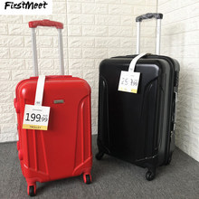 Italian fashion brand small turtle trolley suitcase ultralight expand men women rolling luggage box scratch-proof suitcase(China)