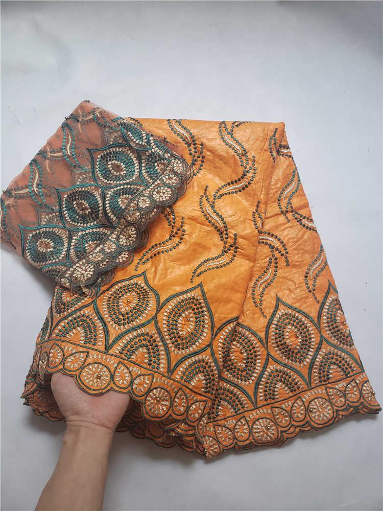 Prix de vente dernière bazin dentelle avec tulle dentelle pour écharpe tissu africain bazin riche pour les robes de soirée nigérianes Winn599l