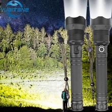 Super helle led taschenlampe xhp 70,2 leistungsstarke 26650 usb taschenlampe xhp50 laterne 18650 jagd lampe hand licht für dropshipping