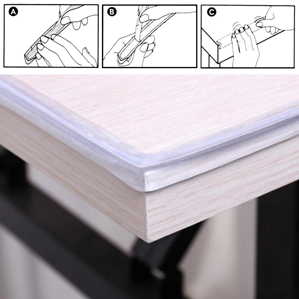 Strip Guards Corner-Protector Table-Edge Collision-Bumper-Strip Furniture-Corner Silicone