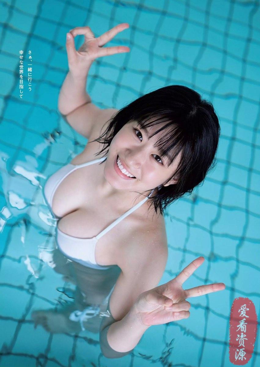 18岁女高中生「上西怜」团体NMB48成员,看完后喜欢上了她!