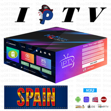 IPTV M3u 1/3/6/12 mois de garantie IPTV XXX Europe Spian Canada suède IPTV adulte pour Android tv box Smart iptv aucune application incluse(China)