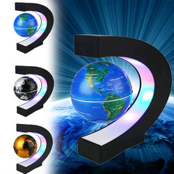 Светодиодный фонарь Оригинальное украшение магнитная левитация DIY мир в форме карты домашний Глобус лампа для изучения спальни карта мира ...