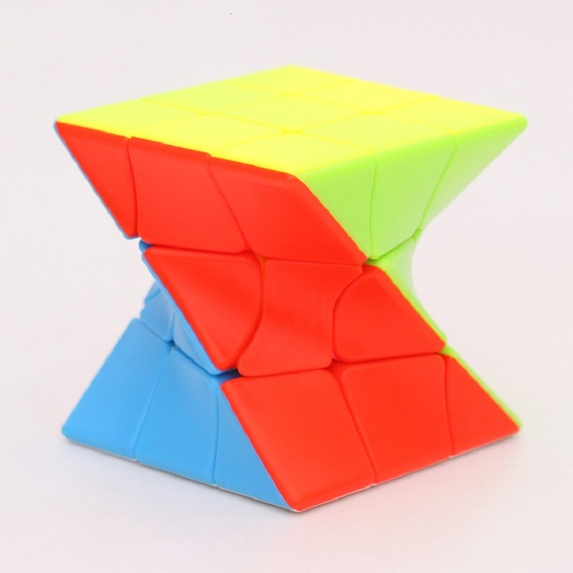 Z-Cube 3x3x3 Neo Torsion Twist magic cube puzzle Zcube 3x3x3 Intelligence Twisted Educational Cool Toys 1