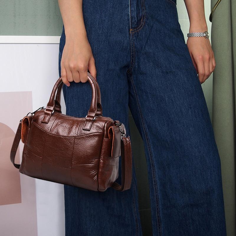 Female Genuine Leather Luxury Handbags