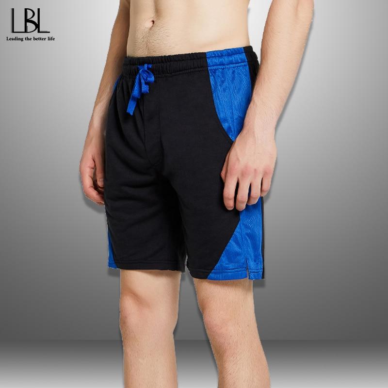 Patchwork Shorts Men Summer 2020 Men's Beach Shorts Quick Drying Drawstring Short Pants Man Sportswear Casual Boardshort Man 4XL