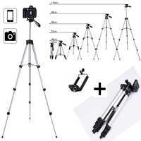 Extensible Mobile téléphone intelligent appareil photo numérique trépied support de montage pince ensemble pour Nikon pour Canon pour iPhone 6 6s 7