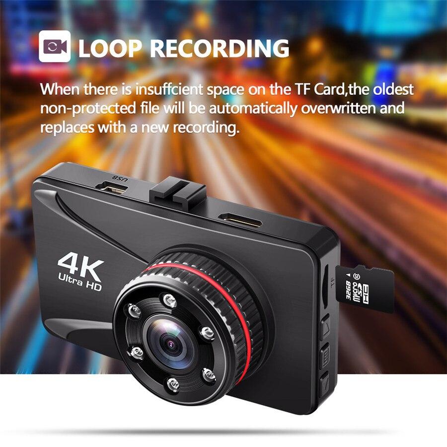 Maiyue star 4K full HD 1080P Автомобильный цифровой видео регистратор Camesh3 дюймов cam dashboard камера ночного видения g-сенсор Автомобильный регистратор