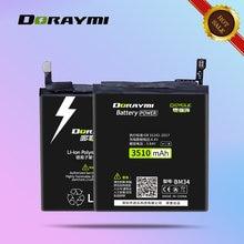 Doraymi bm34 аккумулятор большой емкости для xiaomi mi note
