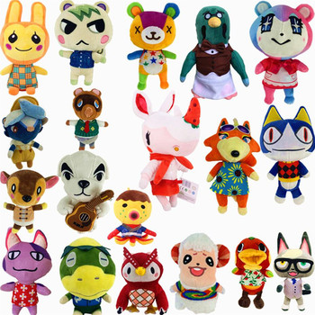 2020 Animal Crossing Plush toy New Horizons Game Animal Crossing Amiibo marshal Plush toy Doll Gifts for children NFC Plush toy series 4 301 to 350 animal crossing card amiibo cards work for switch ns 3ds games card animal crossing amiibo card new leaf
