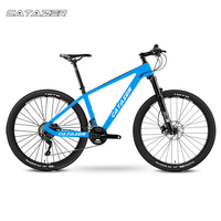 CATAZER 탄소 산악 자전거 26er 디스크 브레이크 MTB 자전거 프레임 22 속도 사이클 SHIMAN0 M8000 그룹 세트