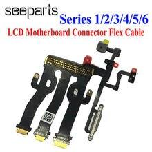 Connecteur flexible pour écran tactile LCD, 1 pièce, pour Apple Watch série 1 / 2 / 3 / 4 / 5 /6 38/42mm 40mm 44mm