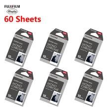 10-60 листов черно-белая монохромная пленка Fujifilm instax mini 8 9 Fujifilm instax instant camera mini 8 9 7s 25 50s 90 бумага