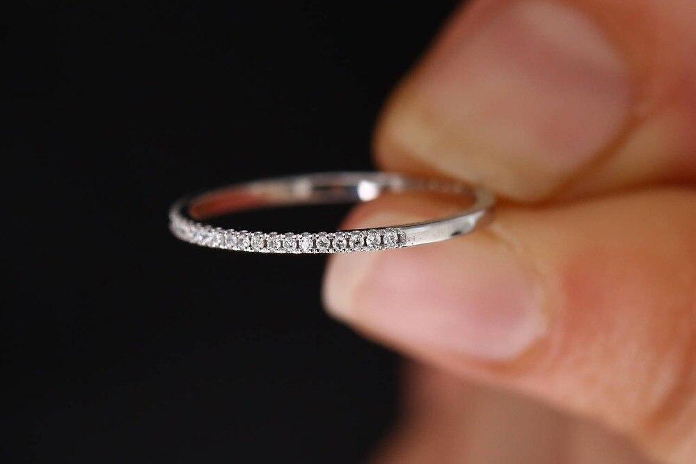 Anillos de circonio AAA completos de lujo para mujeres 925 joyas de plata esterlina prometen Anillos de boda joyería al por mayor Bague Femme