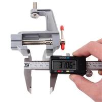 Silver 30mm Mini Aluminum Alloy Vise Table Vise DIY Craft Mould Fixing Repair Tool