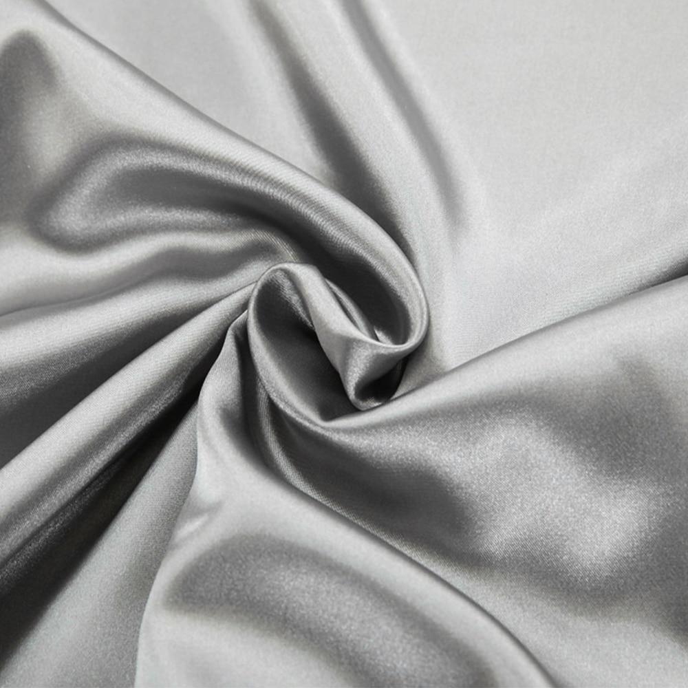 Summer Satin Bedding Set Comforter Bedding Set Duvet Cover Bed Sheet Pillow Quilt Cover Single Double