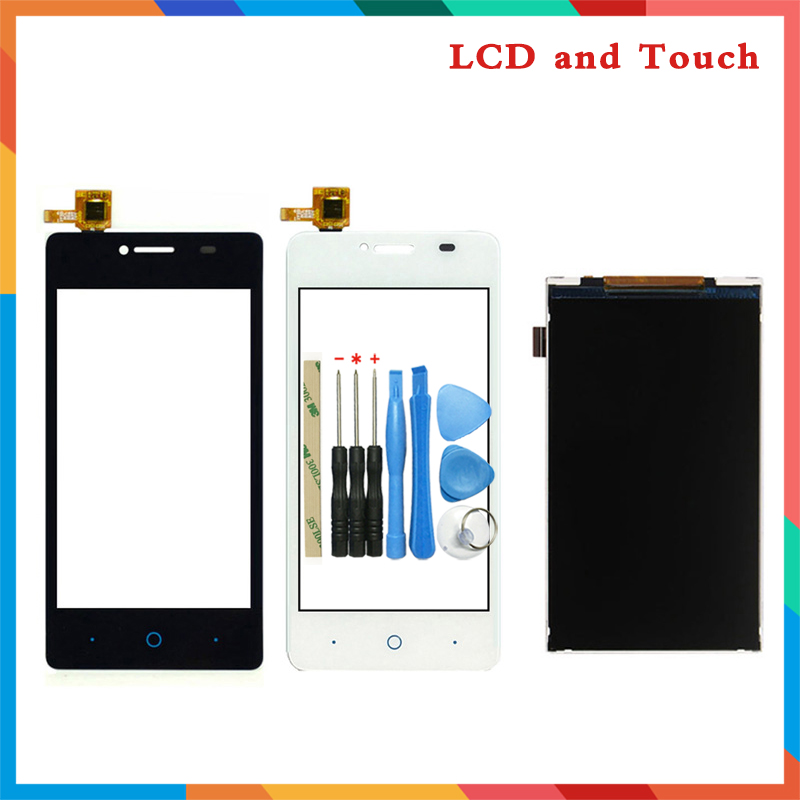 high quality 4.0'' For ZTE Blade AF3 T221 A5 Lcd Display Screen + Touch Screen Digitizer Sensor image