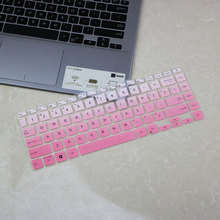 Keyboard-Protector Zenbook Asus Skin-Cover Silicone Layout for Q407iq/407/Vivobook/..