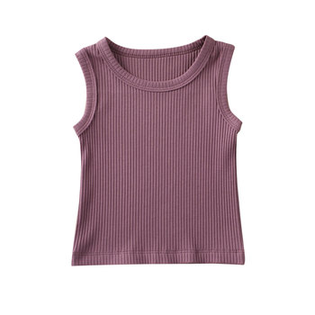 dark purple cotton top