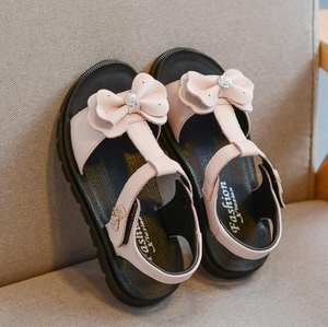 Girls Sandals Beach-Shoes Gladiator Princess Genuine-Leather High-Quality Children's