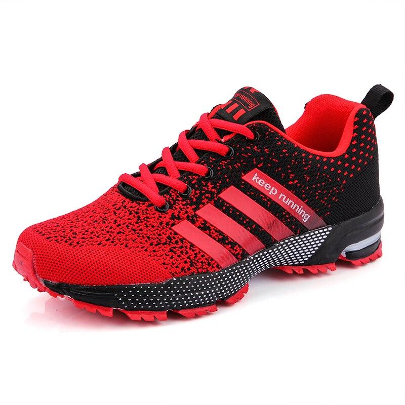 جديد 2019 احذية الجري للرجال تنفس في الهواء الطلق أحذية رياضية خفيفة الوزن للنساء احذية تدريب رياضية مريحة-في الاحذية من الرياضة والترفيه على title=