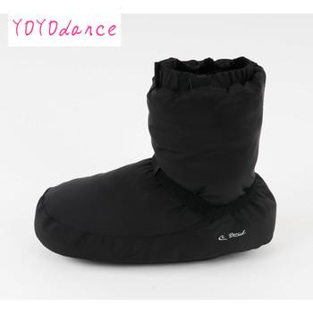 Panie czarny fioletowy szary balet zamek Flo taniec baletowy ciepłe buty nadające się do 23cm do 26 5cm długości stopy rozgrzewki botki tanie i dobre opinie DLTNIW WOMEN CN (pochodzenie) Miękkie buty do baletu Początkujący Cotton Fabric Koturny XC-12005 Średnia (B M) Płaskie (0-1 2 )