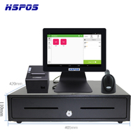 New OEM Logo 12inch Android Tablet RK3288 RAM2GB POS Cash Register with Printer,Scanner for Retails