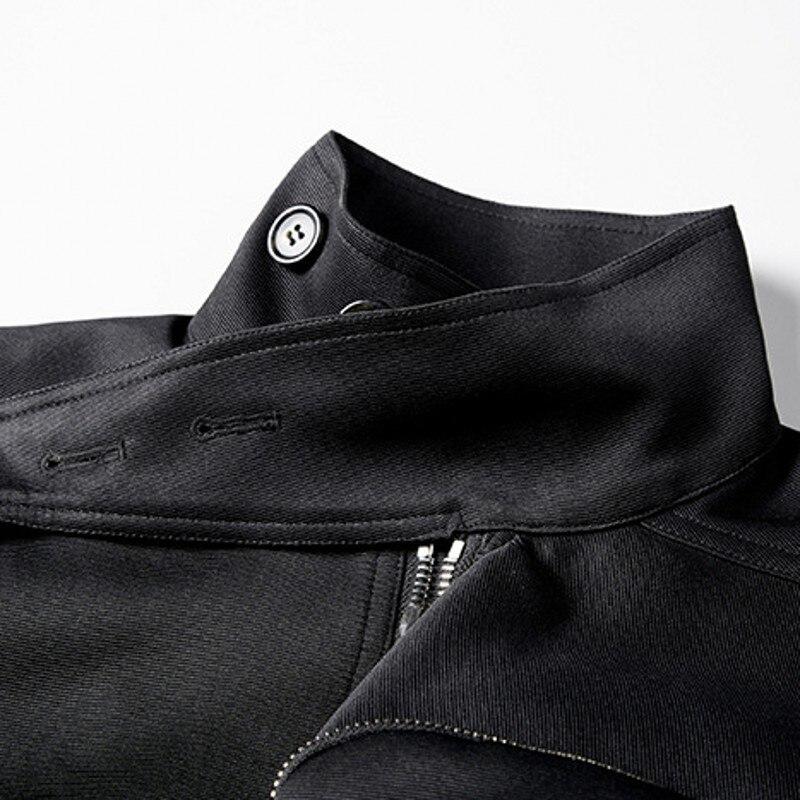 19ss мужской Готический свободный черный жилет, новый темно черный локомотив, панк большой боковой карман, жилет, безрукавка, жилет Homme - 2