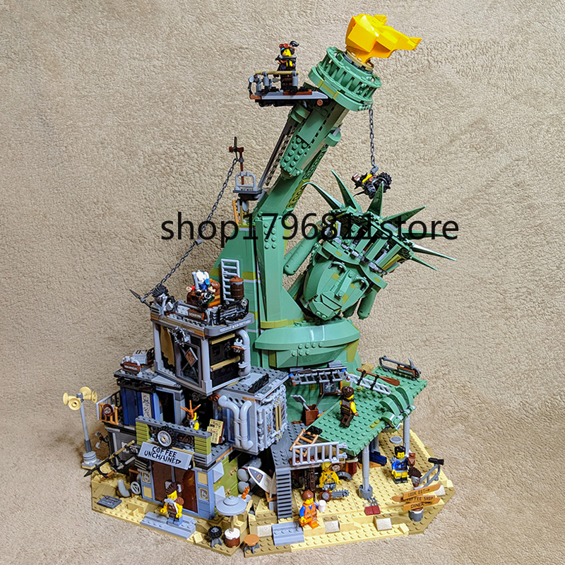 45014 Welcome to Apocalypseburg Movie series Model Building Blocks Bricks Children's Christmas gift Compatible with <font><b>70840</b></font> image