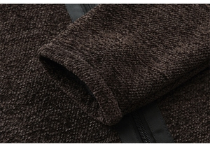 Image 5 - NEGIZBER 2019 חורף Mens מעיל מעילי מוצק Slim Fit עבה פרווה צמר מעילי גברים אופנה חם גברים של קשמיר מעיל Streetwear