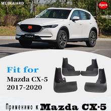 4pcs FOR Mazda CX5 CX 5 2017 2020 Mudguards Fender Mud Flap Guard Splash Mudguard Fenders Mudflaps car accessories auto styline