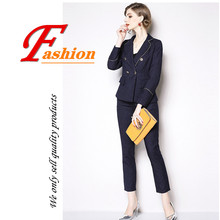 Autumn women new fashion high-grade office lady temperament turn down collar suit