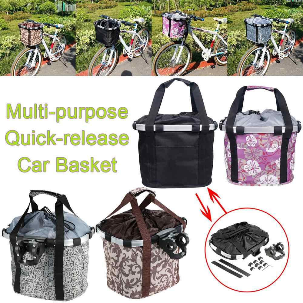 Pets Cat Seat Dog Bicycle Basket Front Removable Bike Carrier Bag Cycling Pouch
