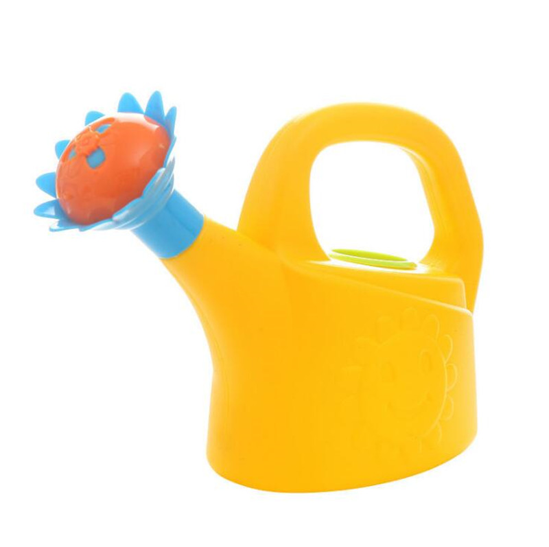 Home Sprinkler Spray Garden Plastic Beach Cute Cartoon Flowers Kids Watering Can Bottle Bath Toy Early Education Watering Toy 3