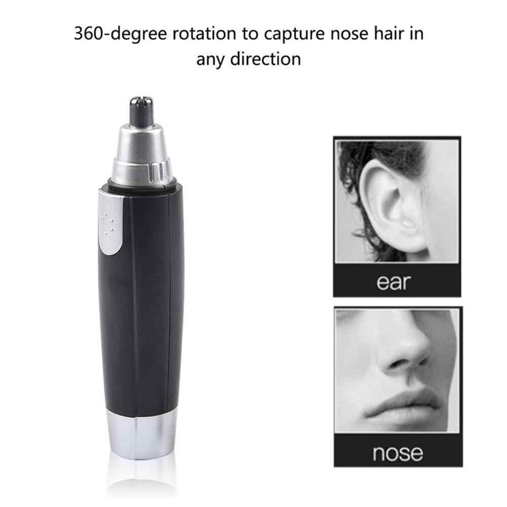 האף חשמלי שיער גוזם לגברים נשים יופי האף אוזן שיער גוזם נייד נסיעות מכונת גילוח פנים טיפול גילוח Razor