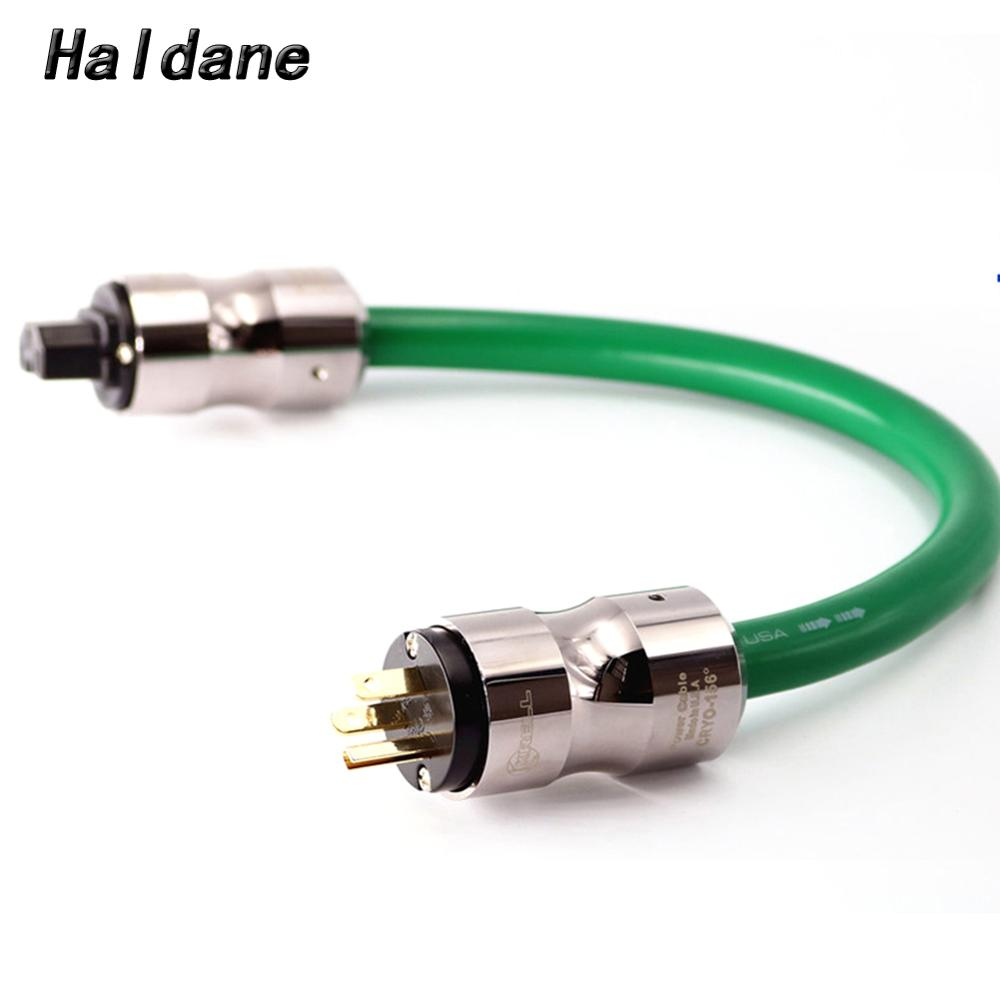 Haldane HIFI Power Cord <font><b>Mcintosh</b></font> <font><b>2328</b></font> Power Cable AC Power Cord with KRELL EU/US Plug Socket Connector AC Cable Line image