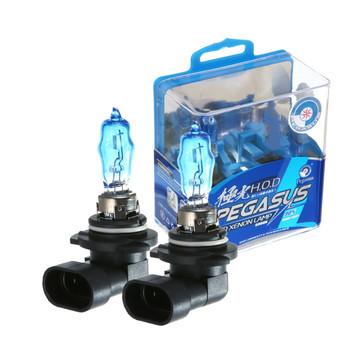 2 sztuk 9005 ksenonowe żarówka halogenowa HB3 12V 100W 6000K intensywna biała żarówki reflektorów samochodowych automatyczne światło lampa ciemny niebieski kwarc szkło lampa samochodowa tanie i dobre opinie 12 v Pegasus 9005(HB3) Super White