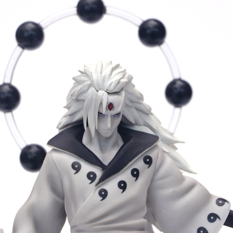 Anime Naruto 3 Heads Uchiha Madara Action Figure Rikudo Sennin PVC Model Toy Statue Birthday Xmas Gift B19 1